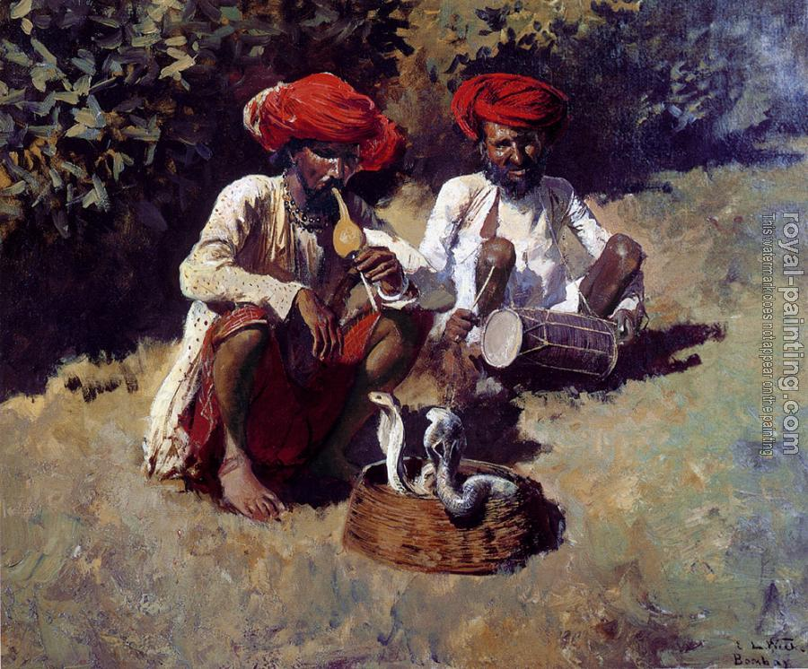 Edwin Lord Weeks : The Snake Charmers, Bombay
