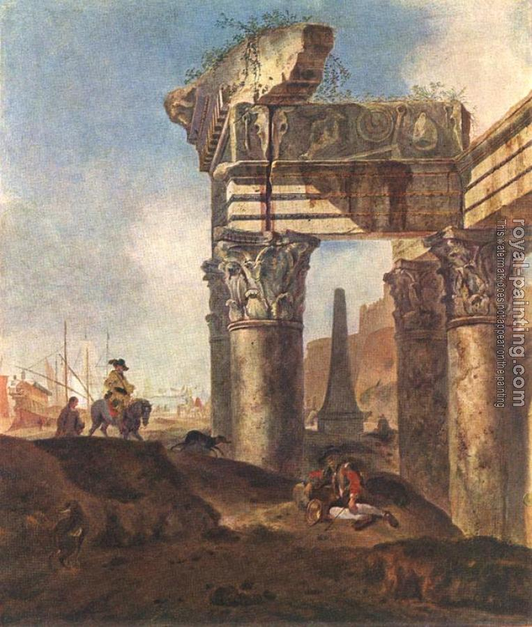 Jan Weenix : Ancient Ruins