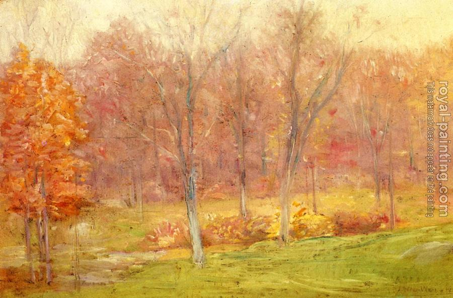 Julian Alden Weir : Autumn Rain