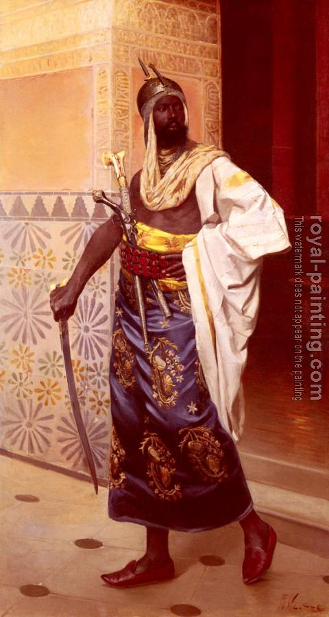 Rudolphe Weisse : A Nubian Guard