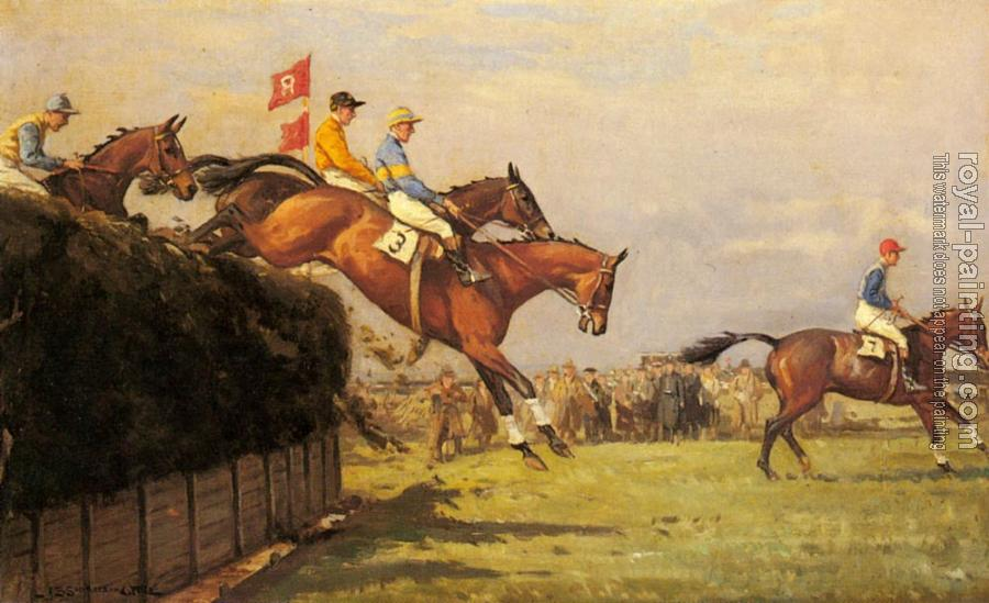 John Sanderson Wells : The Grand National Steeplechase