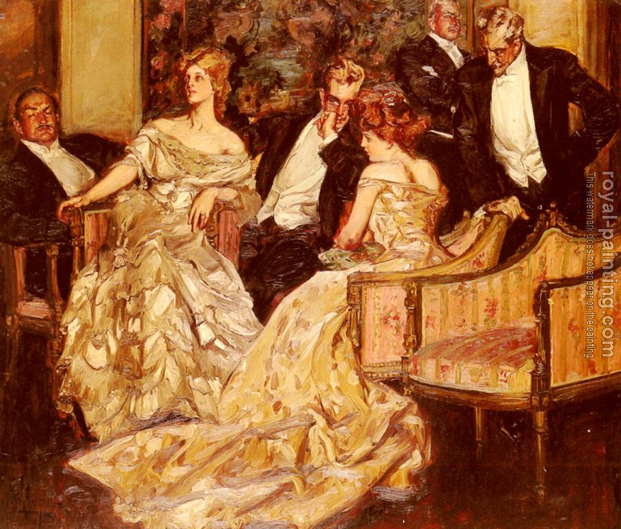 Albert Beck Wenzell : Three Is A Crowd