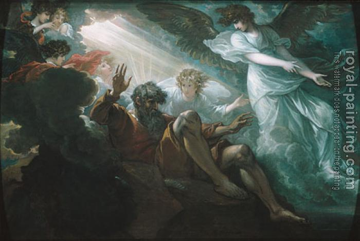 Benjamin West : Moses Shown The Promised Land