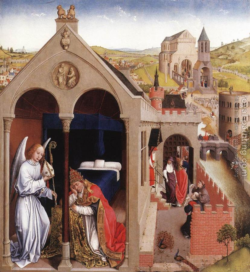 Rogier Van Der Weyden : Dream of Pope Sergius