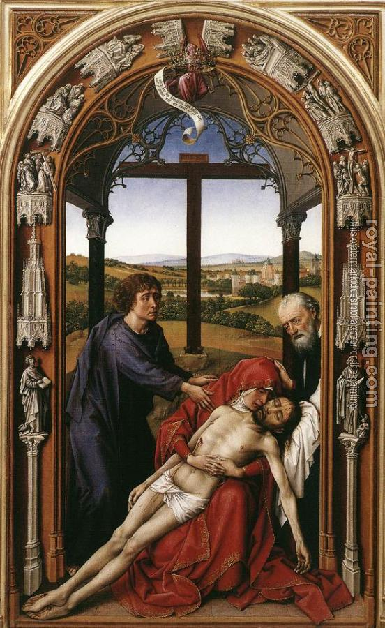 Miraflores Altarpiece, central panel