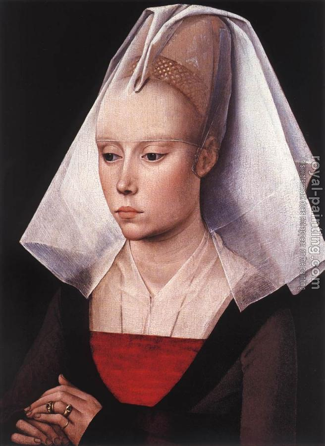 Rogier Van Der Weyden : Portrait of a Woman