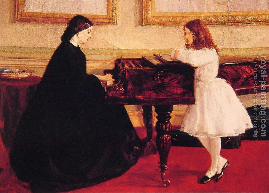 James Abbottb McNeill Whistler : At the Piano