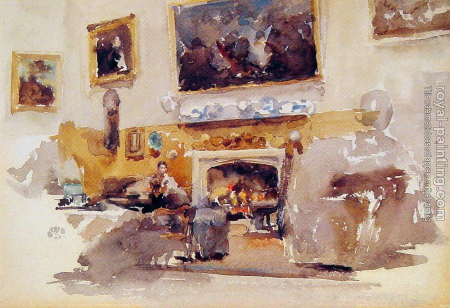 James Abbottb McNeill Whistler : Moreby Hall