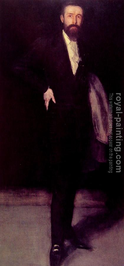 James Abbottb McNeill Whistler : Portrait of Leyland