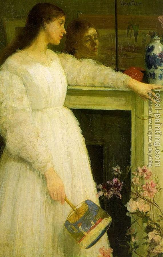 James Abbottb McNeill Whistler : The Little White Girl