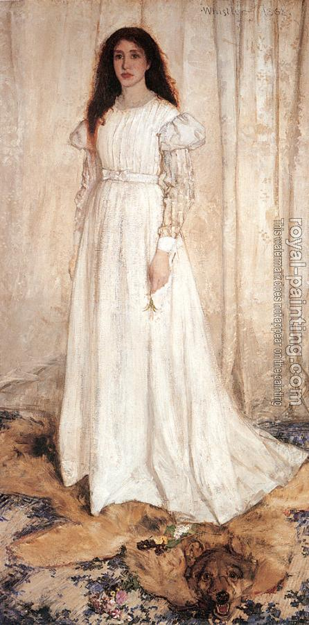 James Abbottb McNeill Whistler : The White Girl