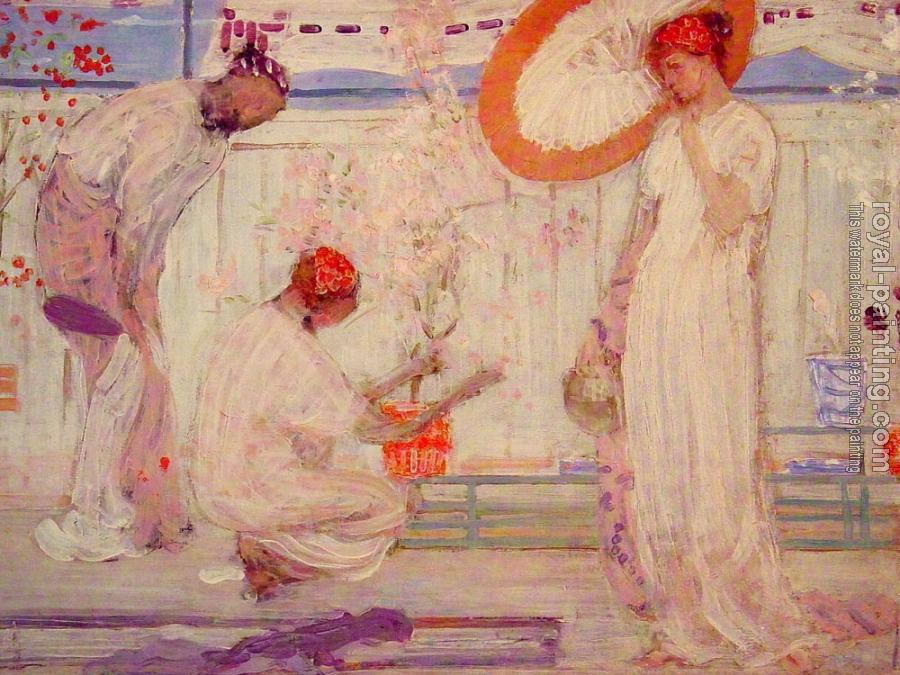 James Abbottb McNeill Whistler : Three Girls