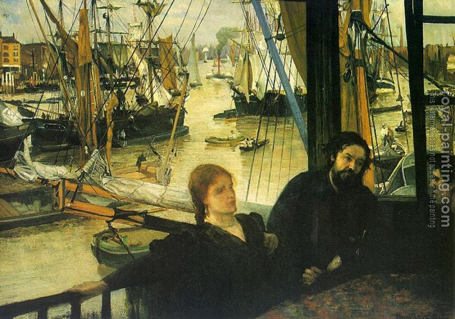 James Abbottb McNeill Whistler : Wapping on Thames