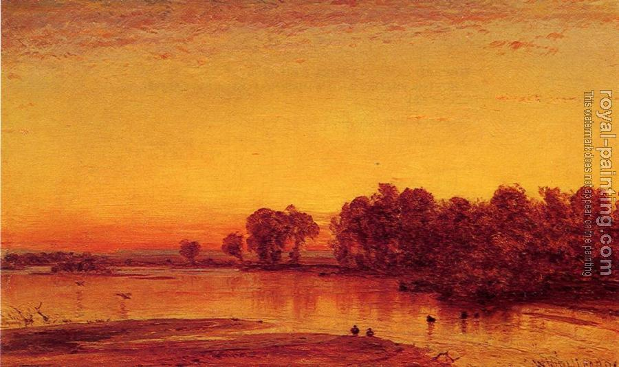 Thomas Worthington Whittredge : The Platte River