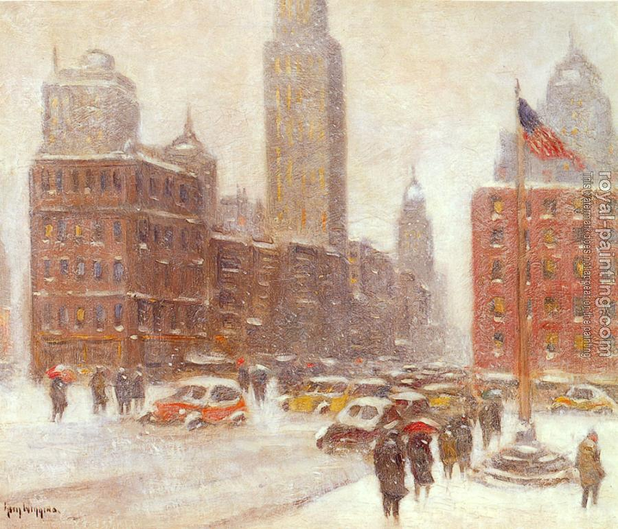 Guy Carleton Wiggins : Fifth Avenue At Madison Square