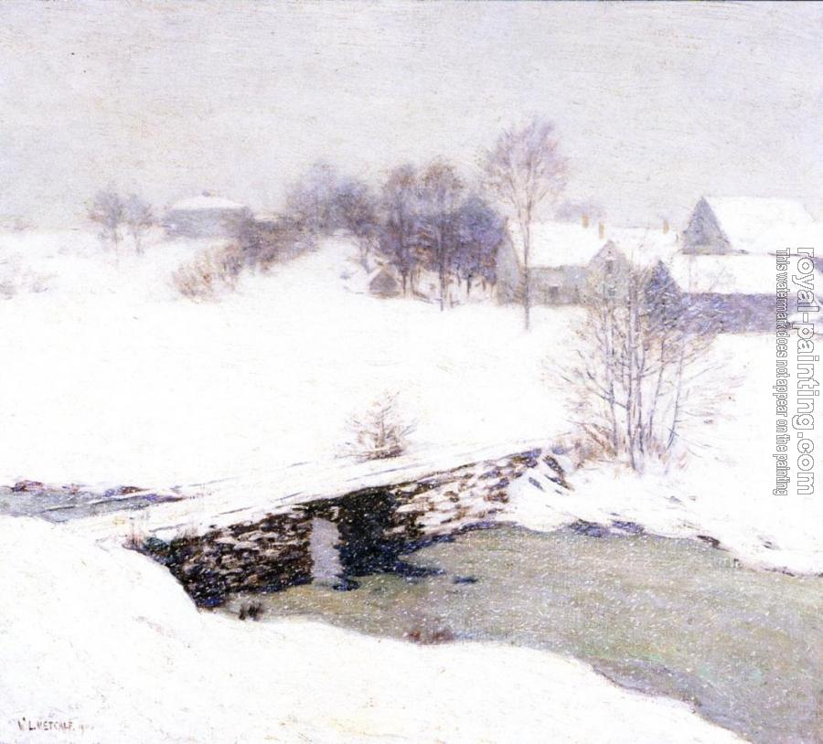 Willard Leroy Metcalf : The White Mantle