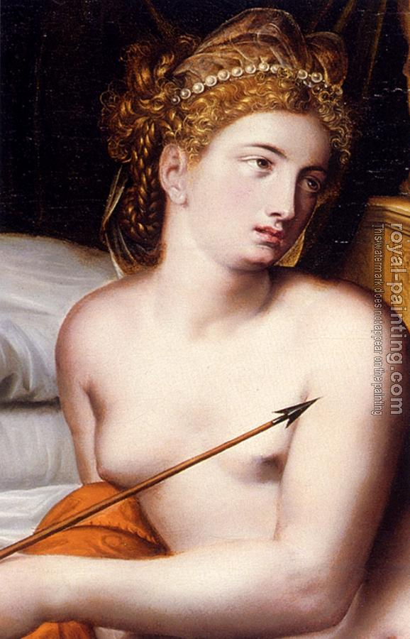 Willem Adriaensz Key : Venus And Cupid detail