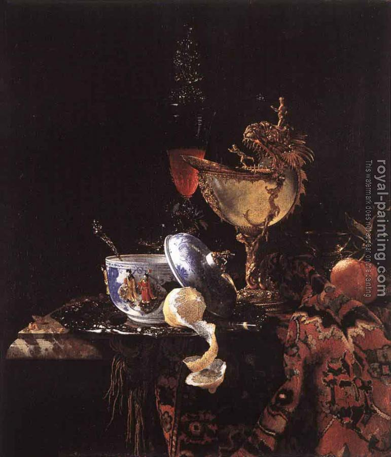 Willem Kalf : Still Life With A Nautilus Cup