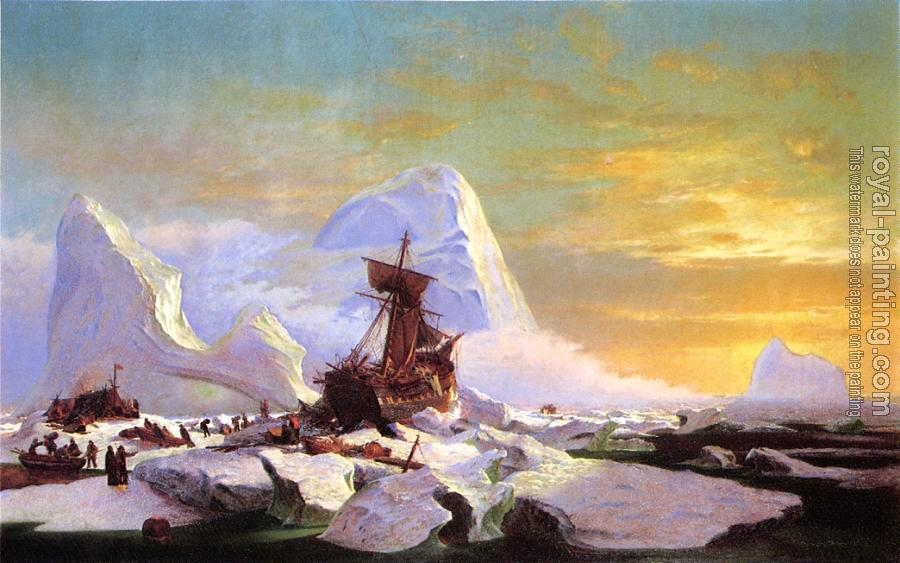 William Bradford : Crushed in the Ice