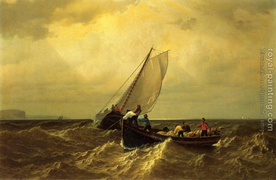 William Bradford : Fishing Boats on the Bay of Fundy
