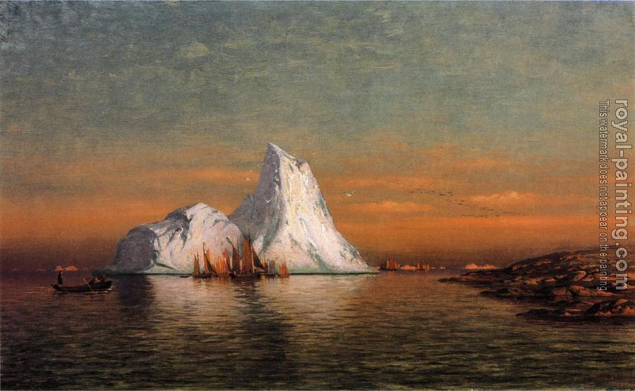 William Bradford : Fishing Fleet off Labrador