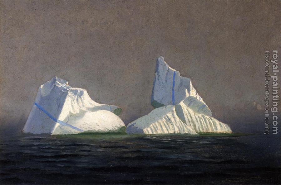 William Bradford : Icebergs