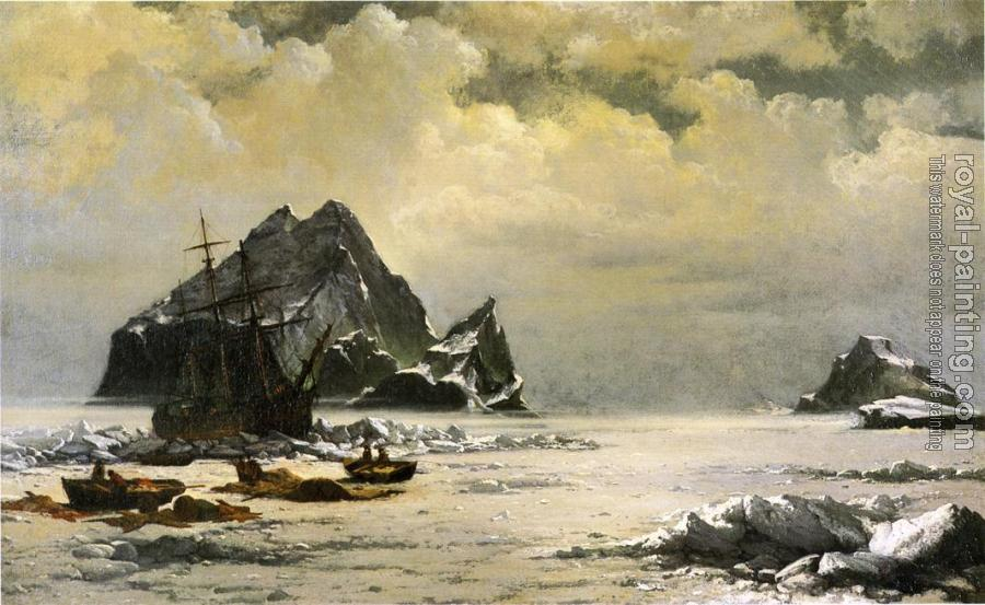 William Bradford : Morning on the Artic Ice Fields