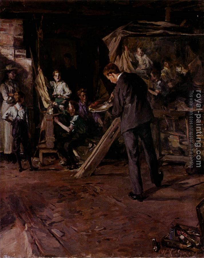 William Christian Symons : The Artists Studio