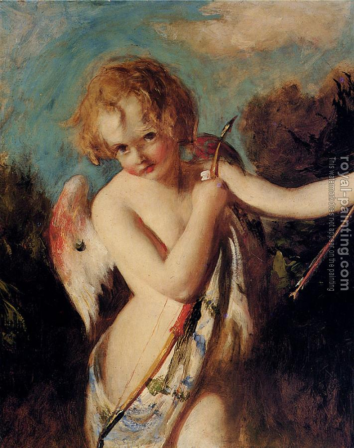 William Etty : Cupid