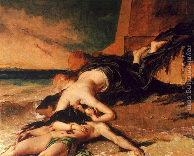 William Etty : Hero and Leander