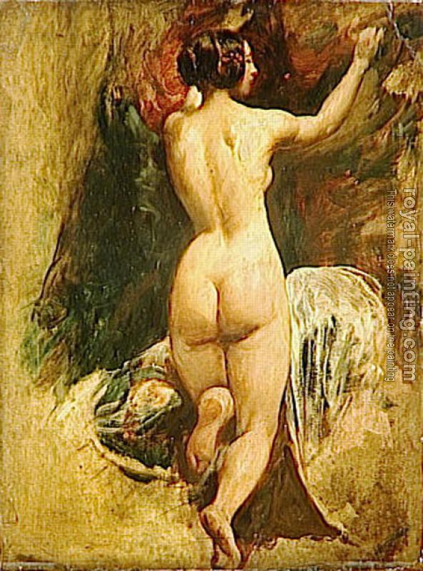 William Etty : Nude Woman from Behind