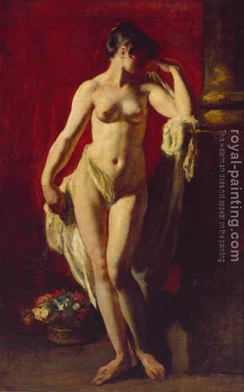 William Etty : Standing Female Nude