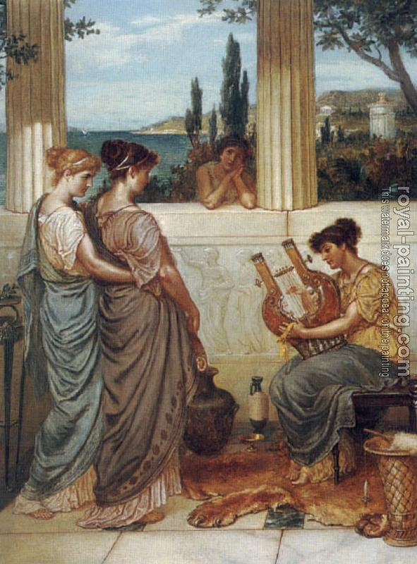 William Holmes Sullivan : Awaiting A Harp