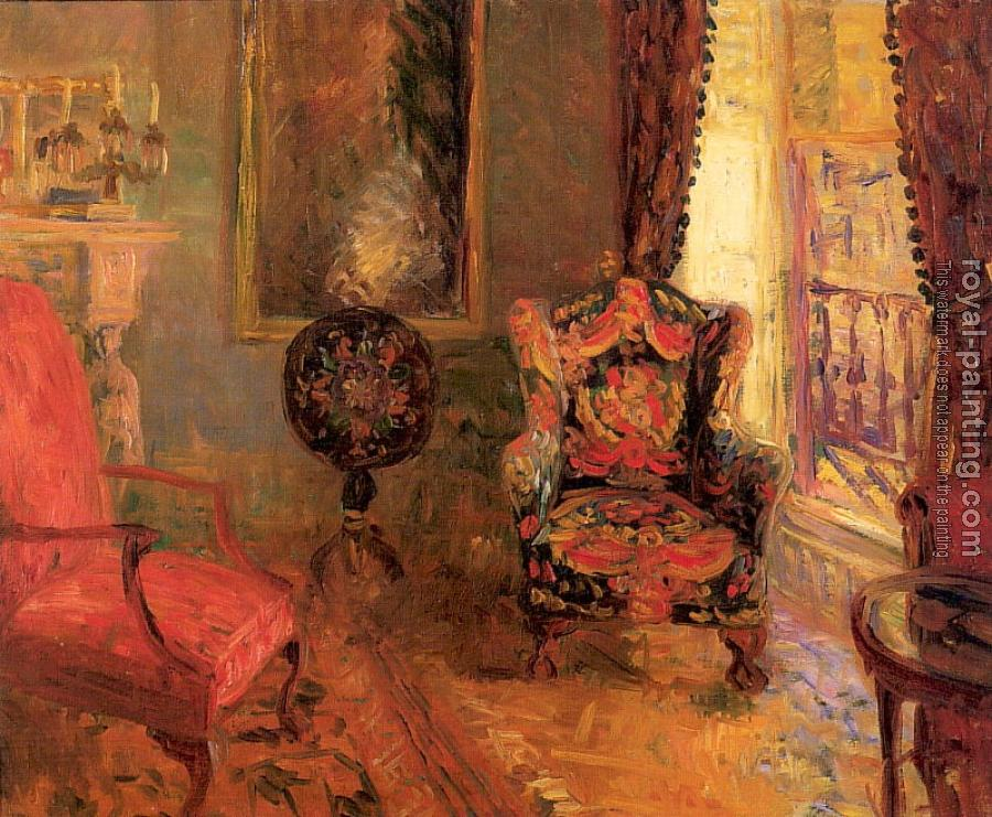 William James Glackens : Twenty Three Fifth Avenue Interior