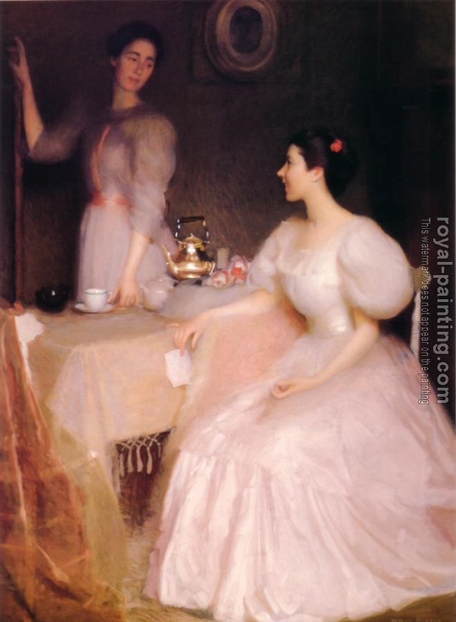 William McGregor Paxton : Mollie Scott And Dorothy Tay