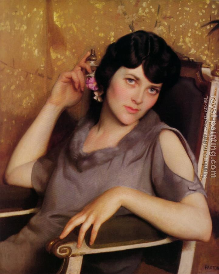 William McGregor Paxton : Pretty Girlor Idleness