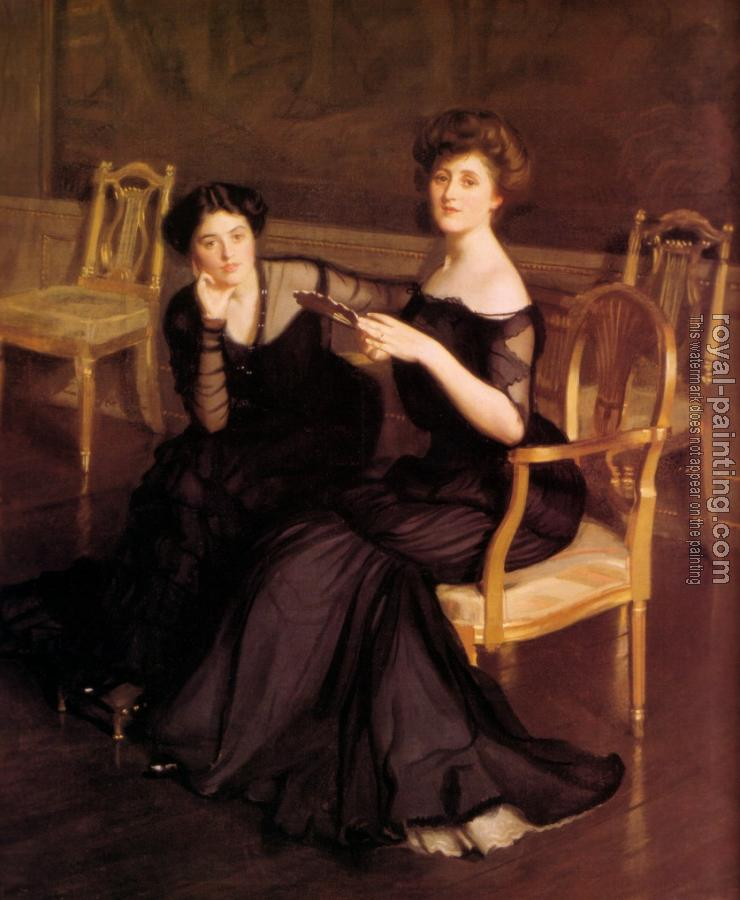 William McGregor Paxton : The Sisters