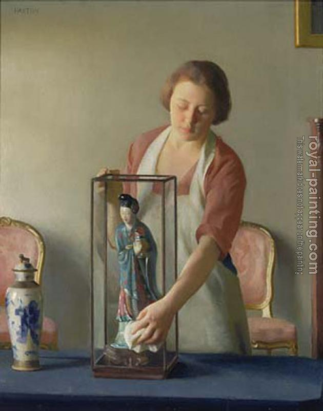 William McGregor Paxton : The Figurine