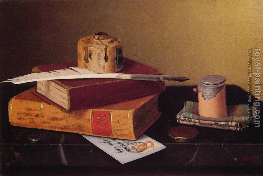 William Michael Harnett : The Bankers Table