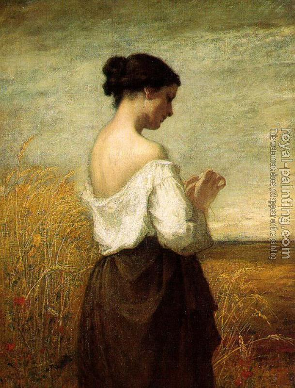William Morris Hunt : Peasant Girl
