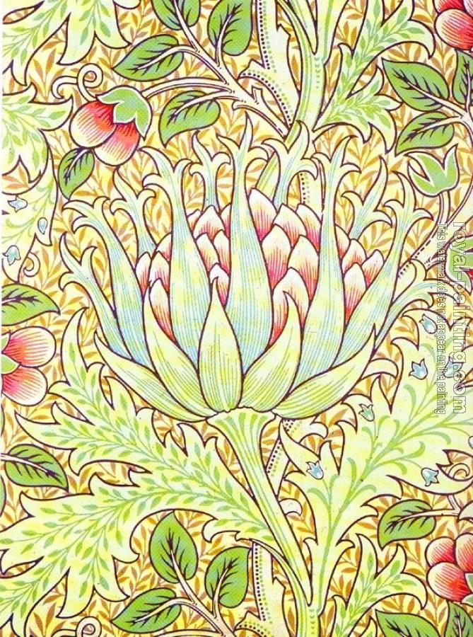 William Morris : artichoke