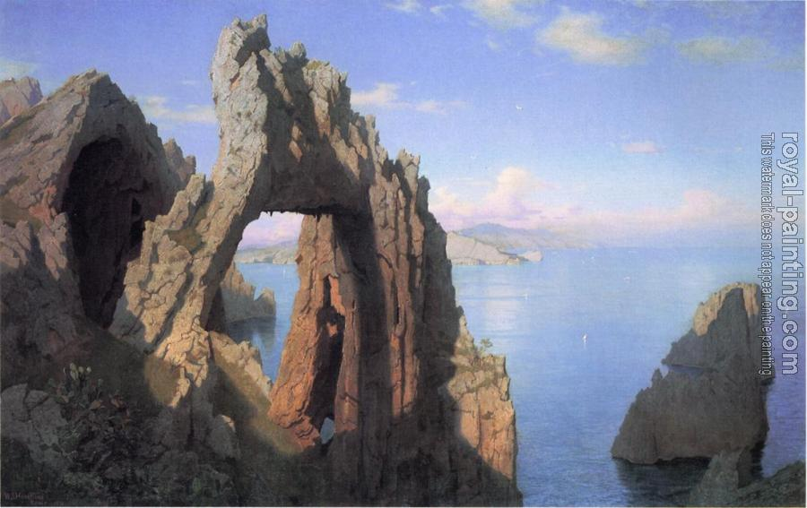 William Stanley Haseltine : Natural Arch at Capri