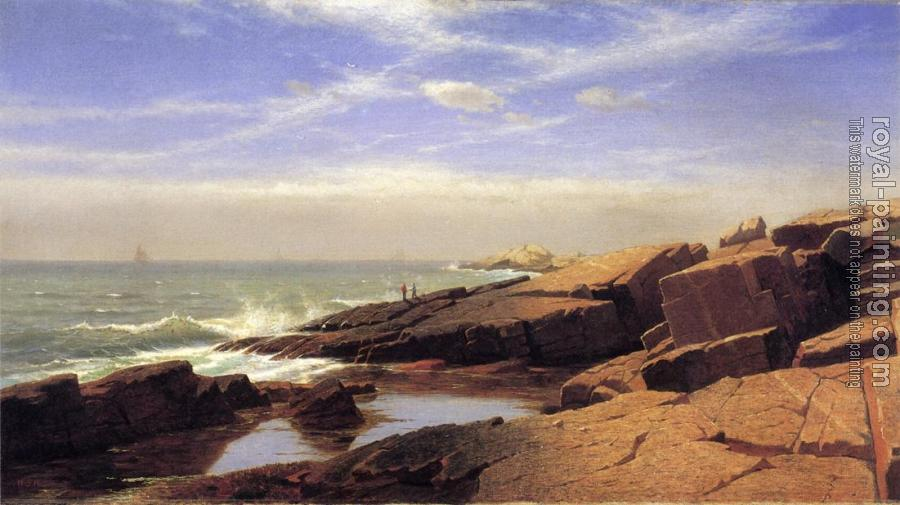 William Stanley Haseltine : Rocks at Nahant II
