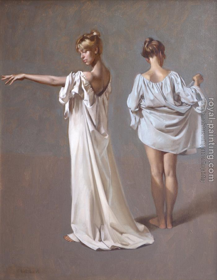 William Whitaker : Two Figures