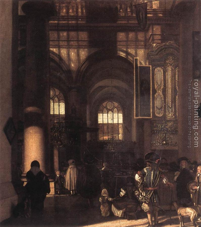 Emanuel De Witte : Interior of a Church IV