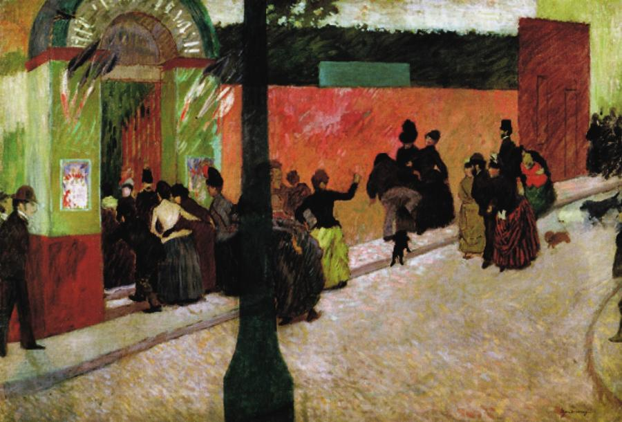 Federico Zandomeneghi : The moulin de la galette