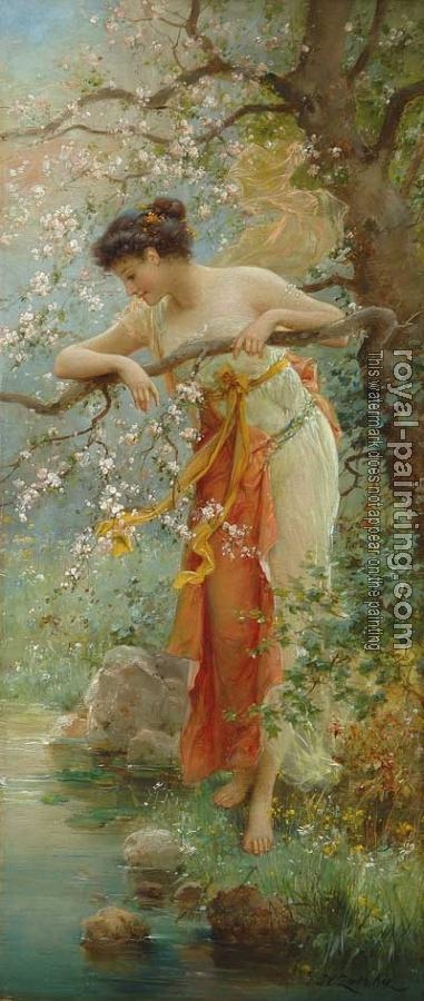 Hans Zatzka : Spring Beauty