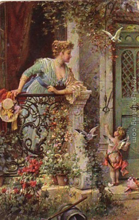 Hans Zatzka canvas painting V