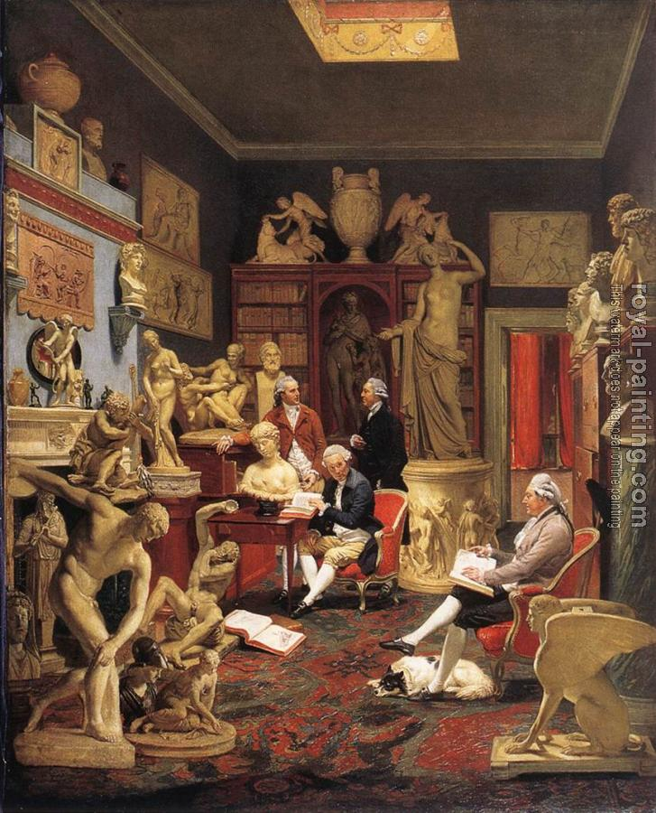Johann Zoffany : Charles Towneley in his Sculpture Galler