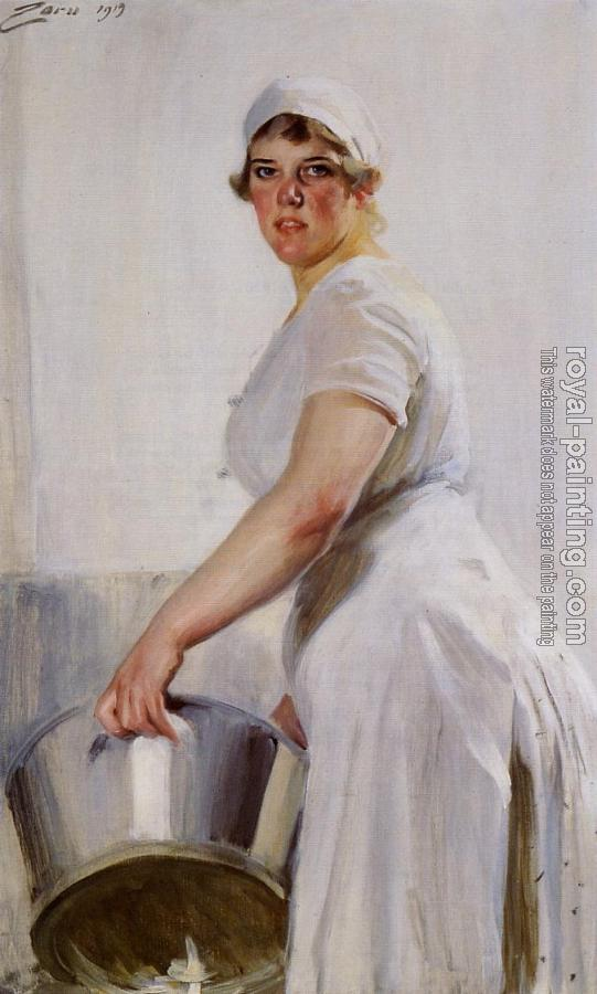 Anders Zorn : Kitchen Maid